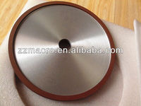 250mm flat resin bonded diamond grinding wheel for metal sharpening