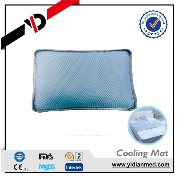 Ice cool gel pack pillow and mat