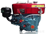 R175 6.6HP 4 stroke single cylinder Water cooled small diesel engine for sale