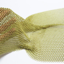 Flexible Stainless Steel Ring Chainmail Mesh for Curtain