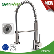 Deck Mount UPC 61-9 NSF Brass Kitchen Sink Faucet