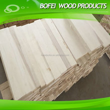 Poplar wood drawer board in bleaching