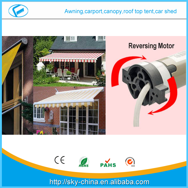 Hot New 2.5m*1.5m-luxurious Retractable Full Cassette Folding arm Awning Prefab Electric Retractable door entrance awning