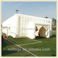 2013 hot sale Durable PVC customize booth clear inflatable lawn tent