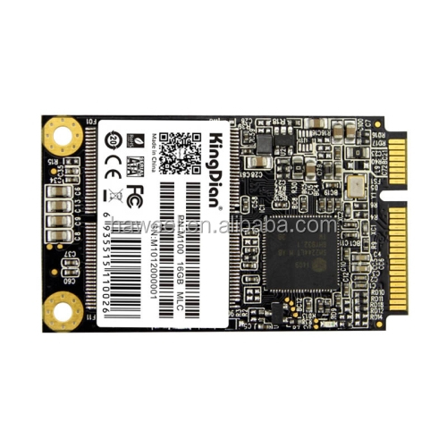 Kingdian M100 16GB Solid State Drive / mSATA Hard Disk for Desktop / Laptop, Size: 5 x 3 cm