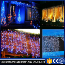 stage fiber optic fairy color changing led curtain light