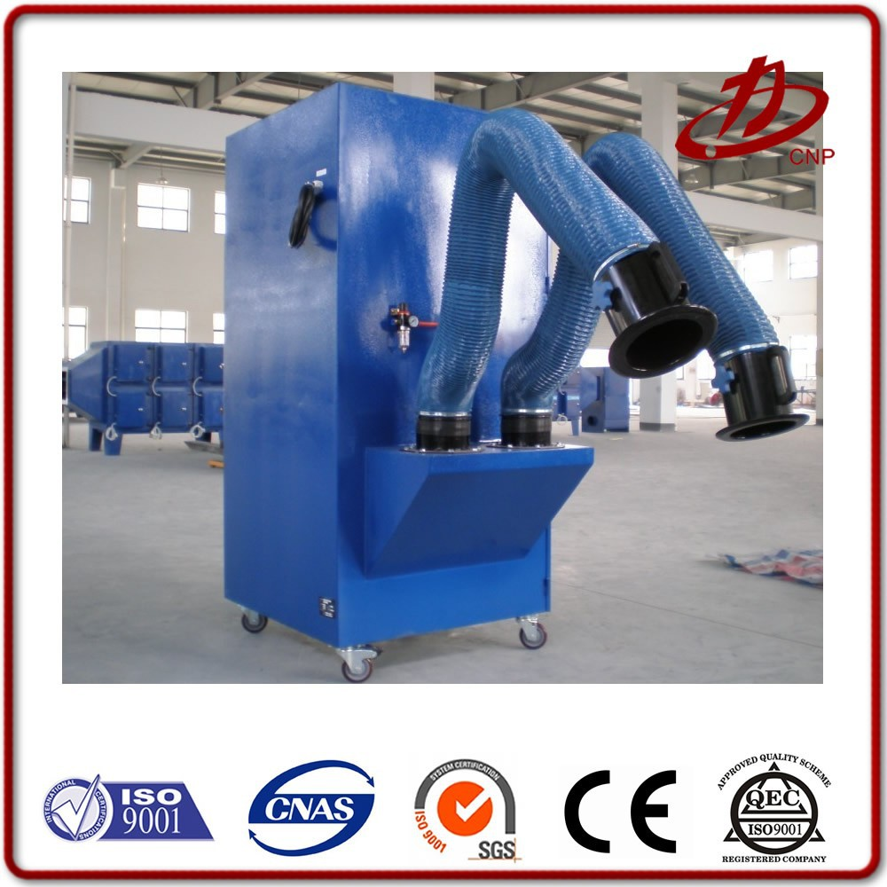 Welding fume extractor the vacuum dust collector