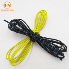 Customized Colored Round Elastic Drawstring Cord Wholesale