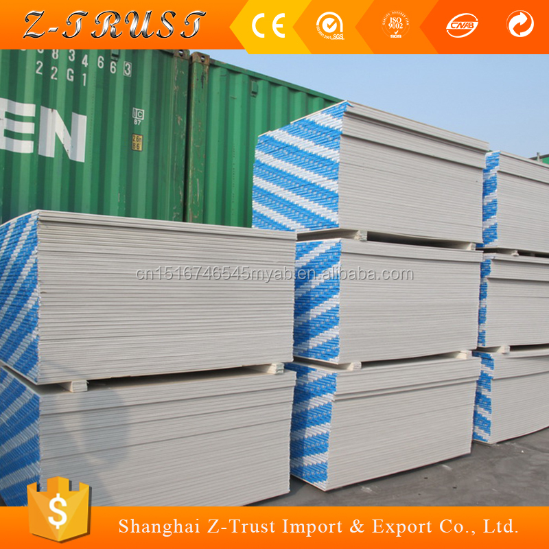12mm Plasterboard for drywall / Types of plasterboard