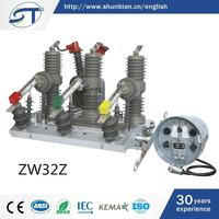 Electrical Equipment High Quality 3 Poles Motorized Circuit Breaker ZW3Z