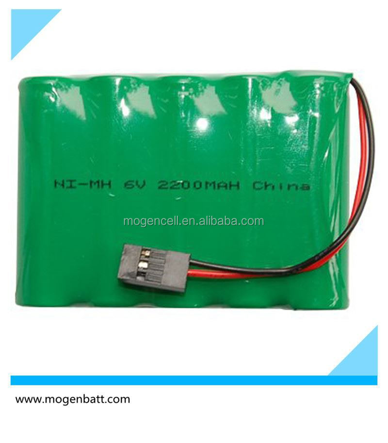 China Suppliers Battery Pack 6 V AA 2200mAh NiMH Battery Pack Nimh Battery Pack