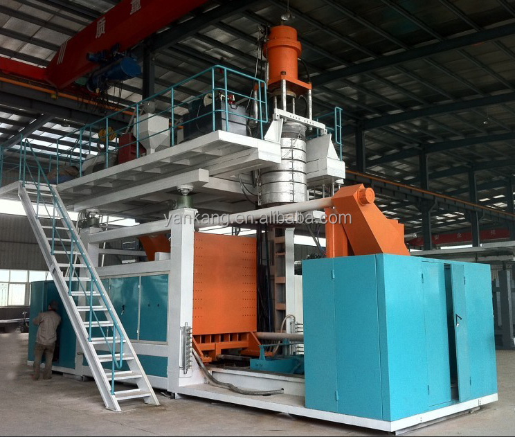 blow molding machinery with plastic HDPE material best quality in CHINA