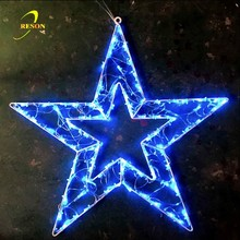 alibaba express outdoor xmas led lighting christmas decoration lighted star