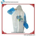 Factory price disposable plastic raincoats