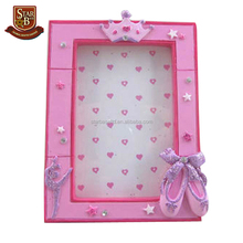 Decorative ballet resin eco-friendly picture 10x15 photo frame
