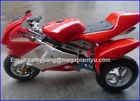Automatic starter 50cc pocket bike with 3 wheels