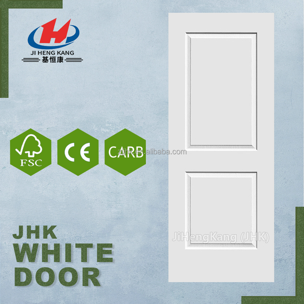 JHK-017 Veneer Wood Wooden Mosquito Net Fairy Door Design White Primer Door