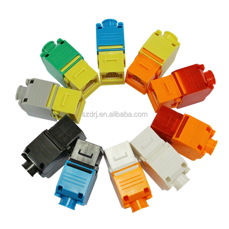 CAT5e UTP toolless rj45 keystone jack