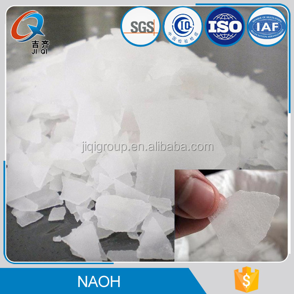 China manufacture naoh water treatment dry caustic soda in flakes pearls shape