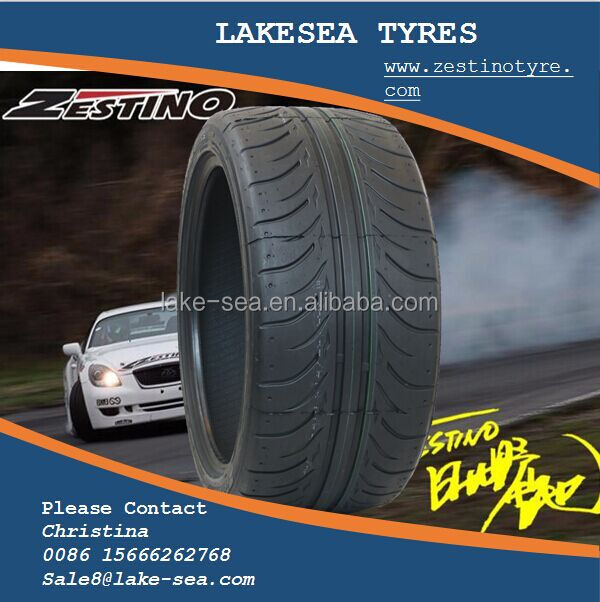 Lakesea brand drift tires205/40/17 new tires wholesale import from China