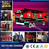5D movie hot sale Dynamic Motion 5D Ride 7D movie theater 8D Cinema Simulator