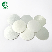 Aluminum foil seals for bottles for plastic bottle cap seal