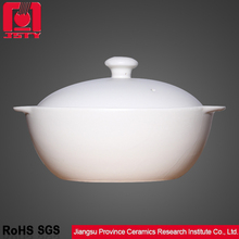 excellent quality white elegant ceramic cookware