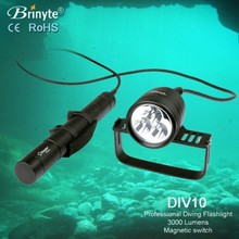 Diver Apparatus DIV10 High Power Professional Led Scuba Diving flashlight