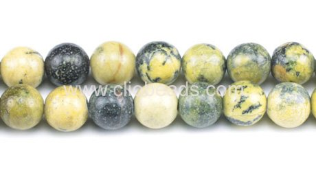 Genuine Yellow Turquoise Beads