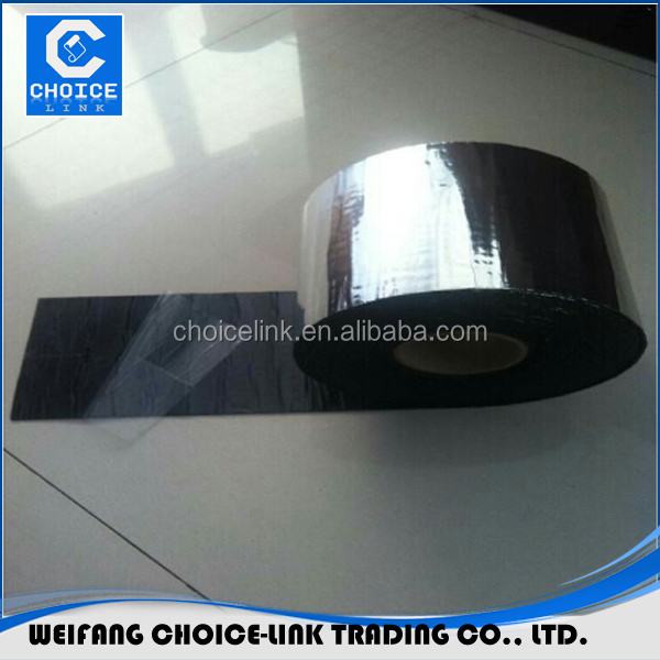 self adhesive aluminium foil bitumen tape for repairing toilet pipe