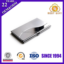 Hard Stainless steel holding Business Card Name Card Case