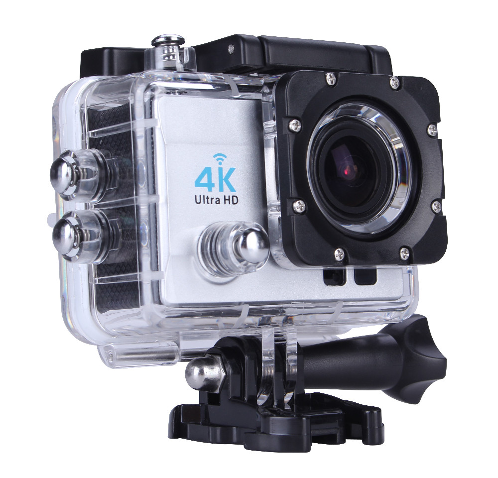 2016 wholesale mini portable DV recorder waterproof 40m full hd 1080p action camera 4k