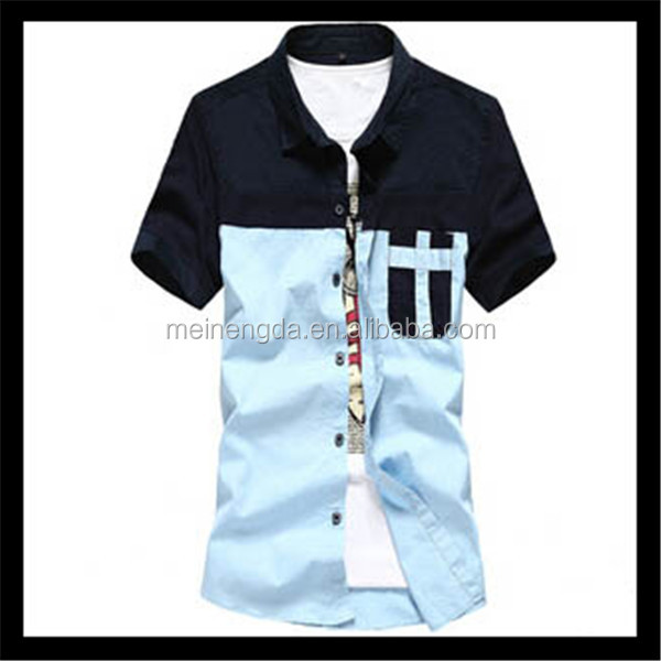 hot sale fashion Korean style famous product designers band shirt for men