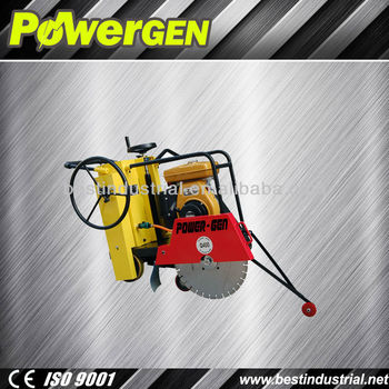 Top Quality!!!Road Machinery Honda Engine Concrete Floor Saw Machine