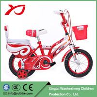 "Factory direct selling kid bike 12 "" with push bar kid bicycle for 3 years old children"