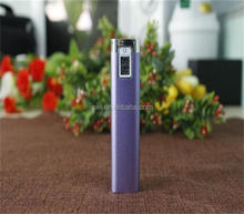 LCD display aluminum alloy cylindrical power supply 2600 mAh
