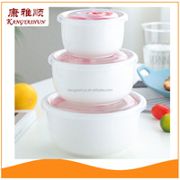 Wholesale Ceramic Fresh Seal Bowl Set, Ceramic Mixing Bowl, Mixing Bowl With Lid Food Storage Container Storage Box