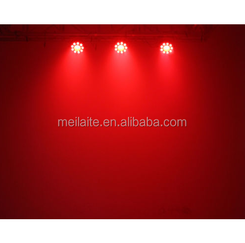 9+1pcs wash wall LED stage par light