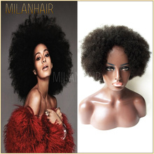 Female Star Hair Full Lace Wig Fashion Afro Kinky Curly Lace Front Wig Natural Brazilian Ponytail Lace Front Wig