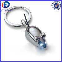 Racing Mouse Illuminated Keychain Pendant