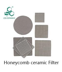 Nid d'abeilles Monolithe En Céramique pour RTO traitement thermique accumulateur