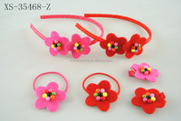 Lovely popular flower hair band for kids, kids hair accessories