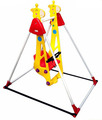 Safety body protections design plastic low back kids swings
