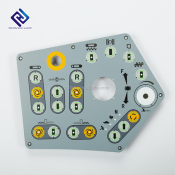 Aluminum Backpanel Housing Membrane Switch Integrated Control Panel