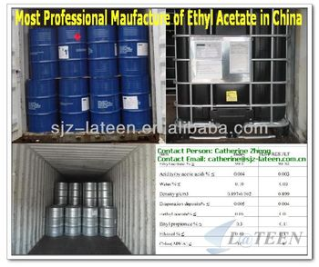 Factory Supply excellent industry grade Ethyl Acetate