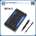 64 in 1 Universal Pro Household Screw Driver Tool Set Watch Mobile Phone Laptop PC Repair Screwdriver Kit