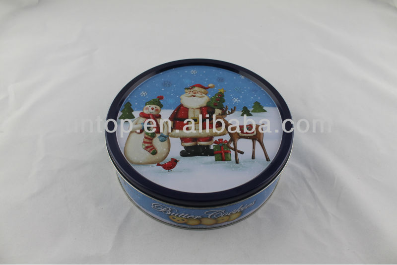 Xmas Cookies gift tin box