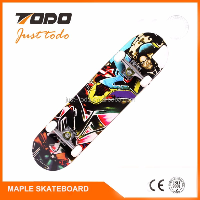 Best selling hub motors electric skateboard bamboo veneer for longboards with remote controller