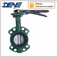 Wafer Centerline Cast Iron Butterfly Valve with viton Seat