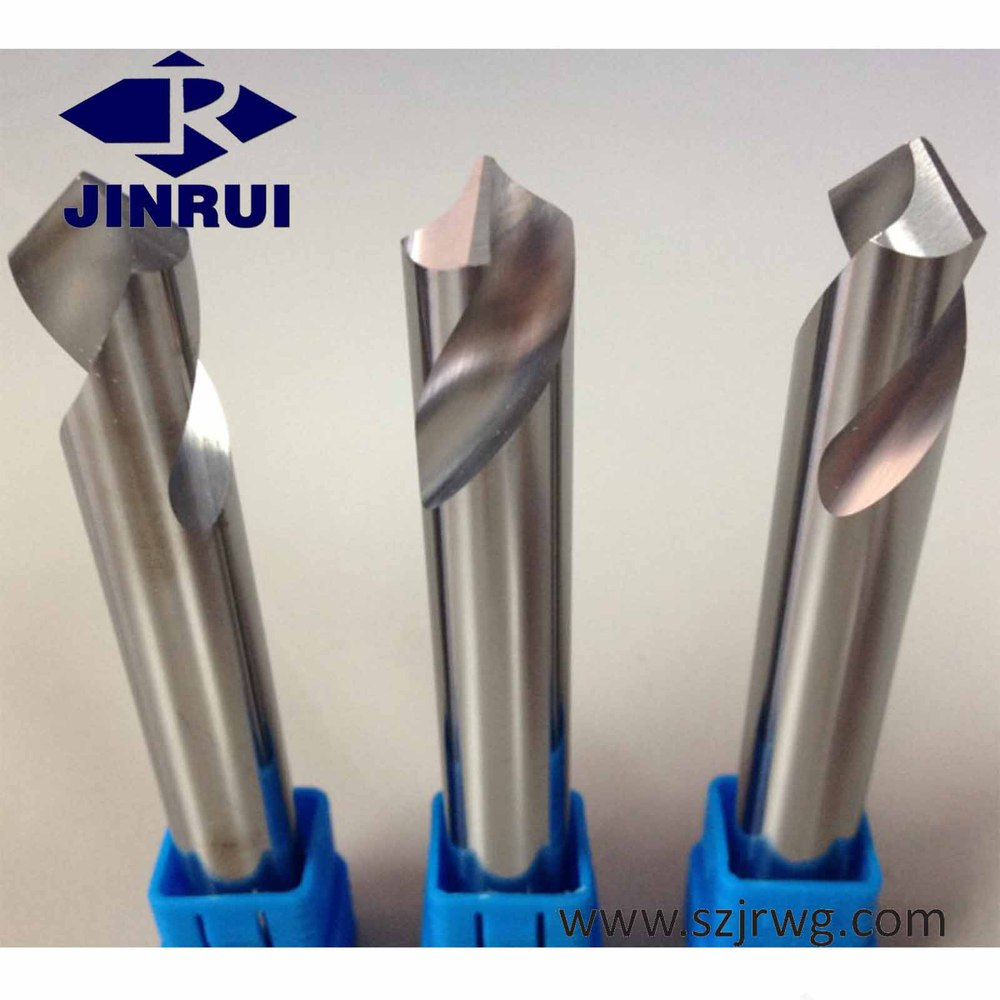 Tungsten carbide NC spotting drill